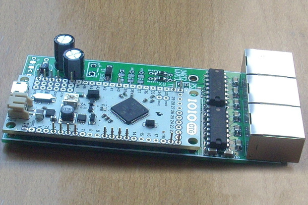 Fully assembled IOIO UART interface board